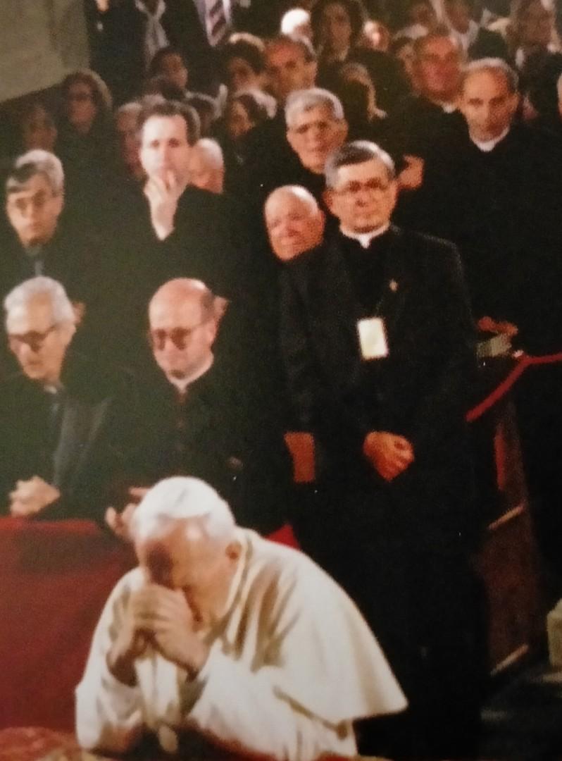 Don Benito Chiarabolli verso le nozze di Diamante con la Chiesa
