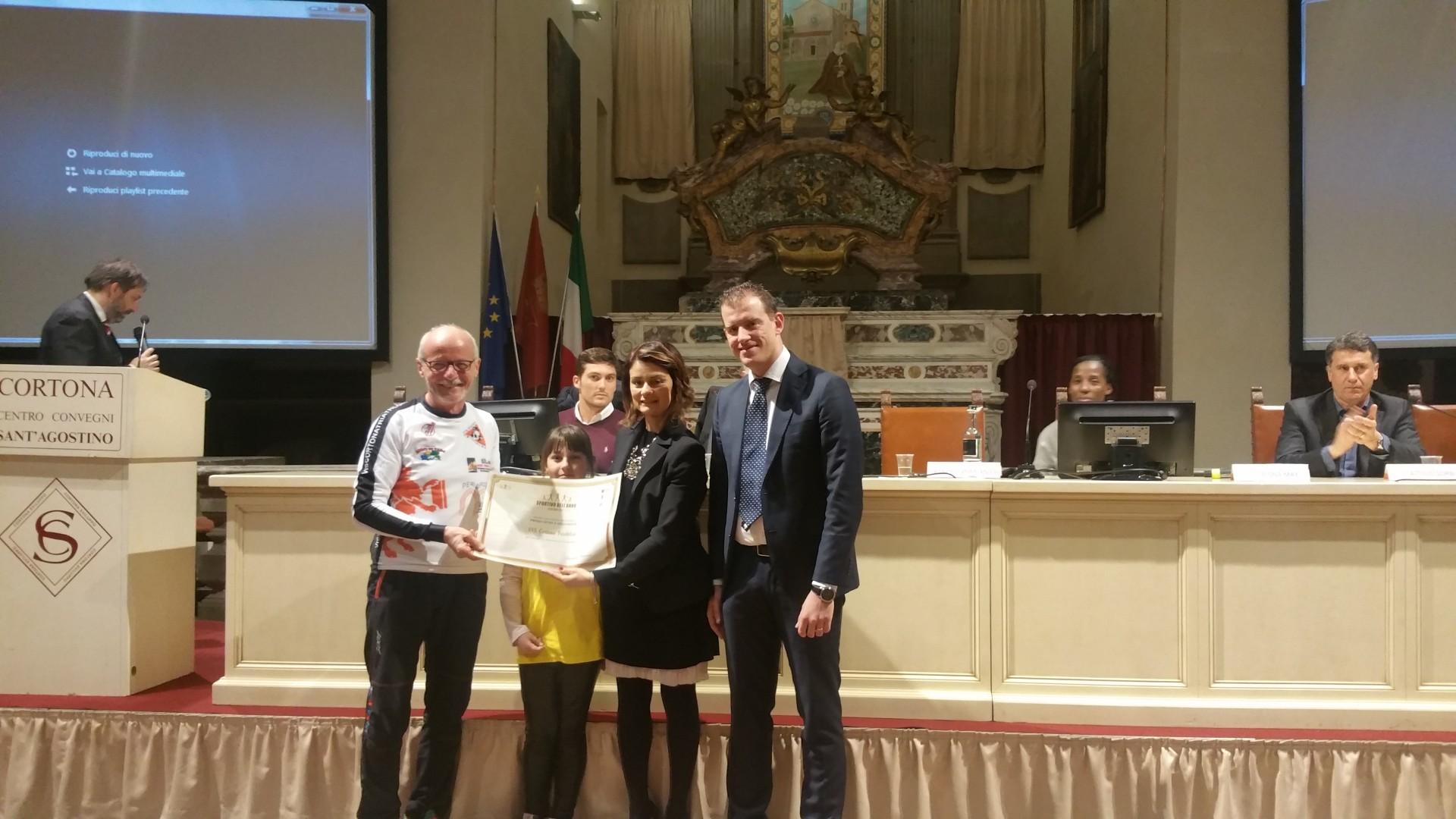 Premio sportivo 2017 città di Cortona - tutte le foto della serata
