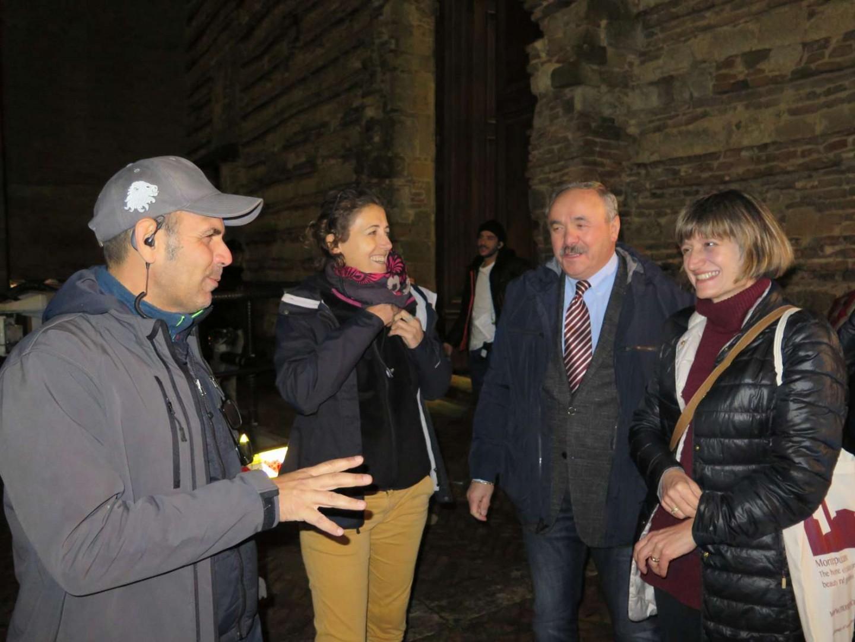 Ultimo ciak per i Medici a Montepulciano, l'entusiasmo dei registi