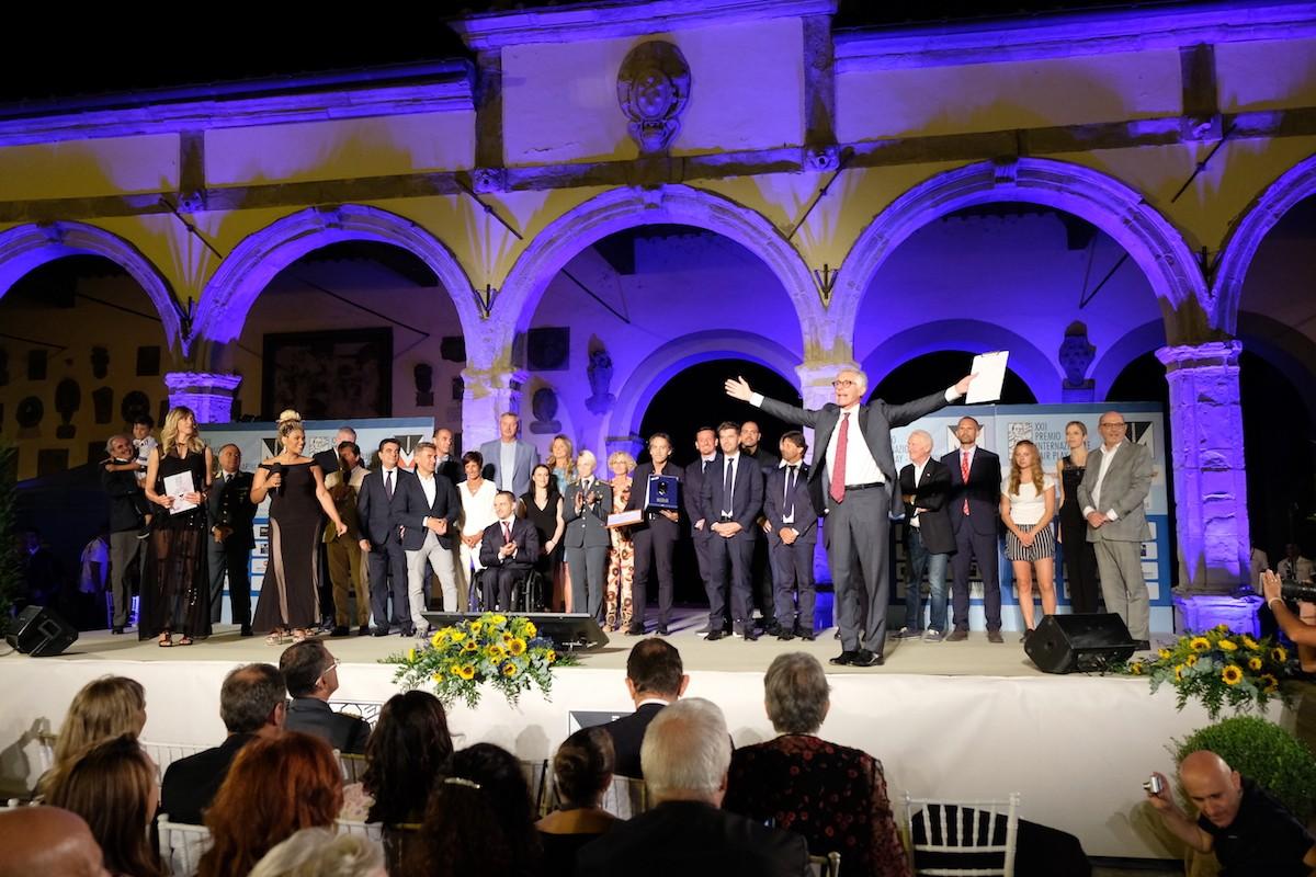 Notte magica a Castiglion Fiorentino con le stelle del Fair Play 2018