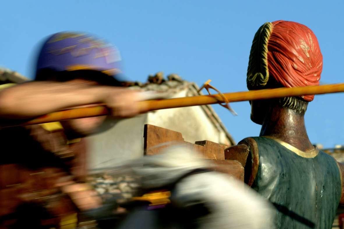 Giostra del Saracino a Sarteano: è il gran giorno