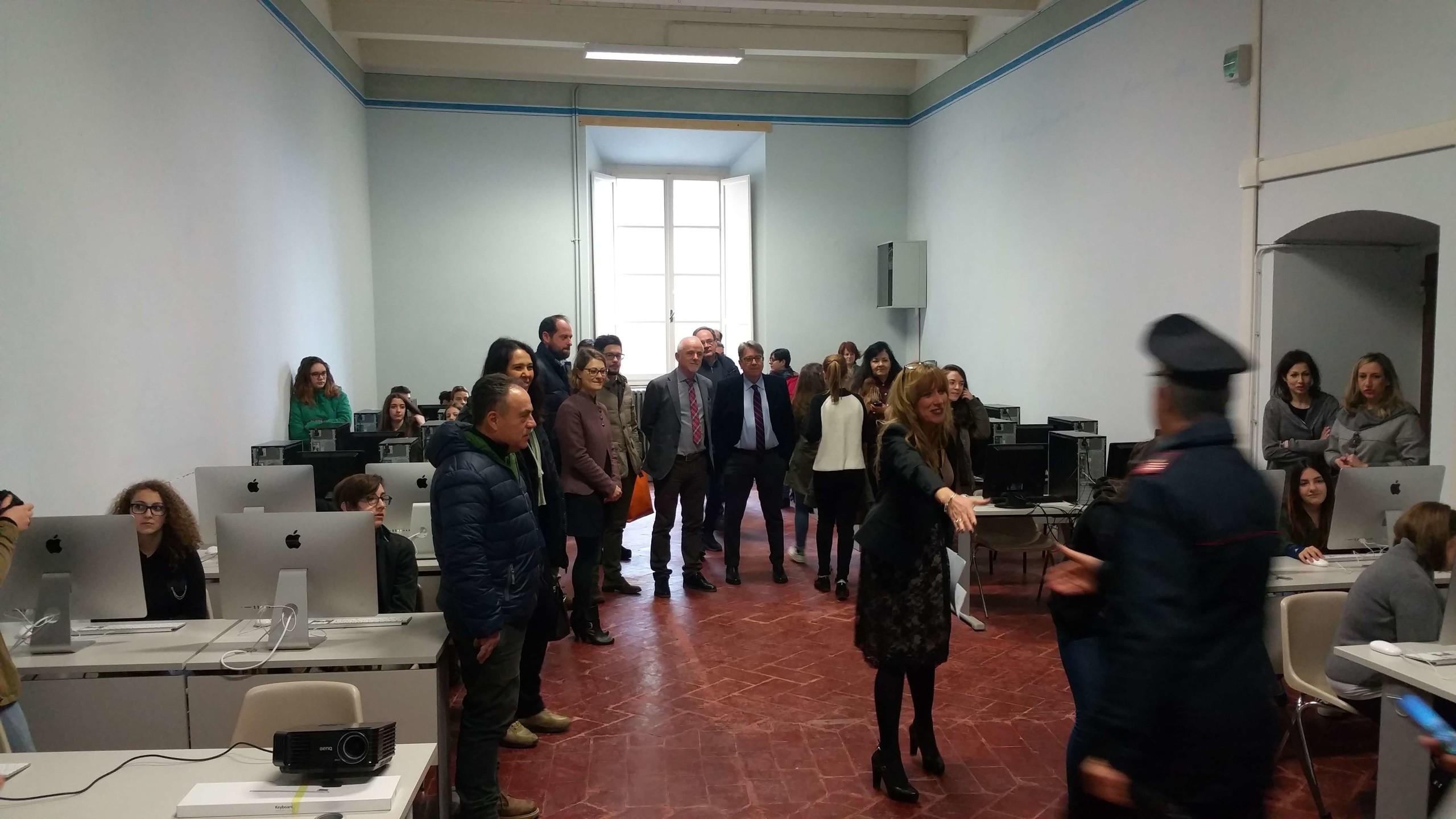 Inaugurati i laboratori del nuovo Liceo Artistico di Cortona