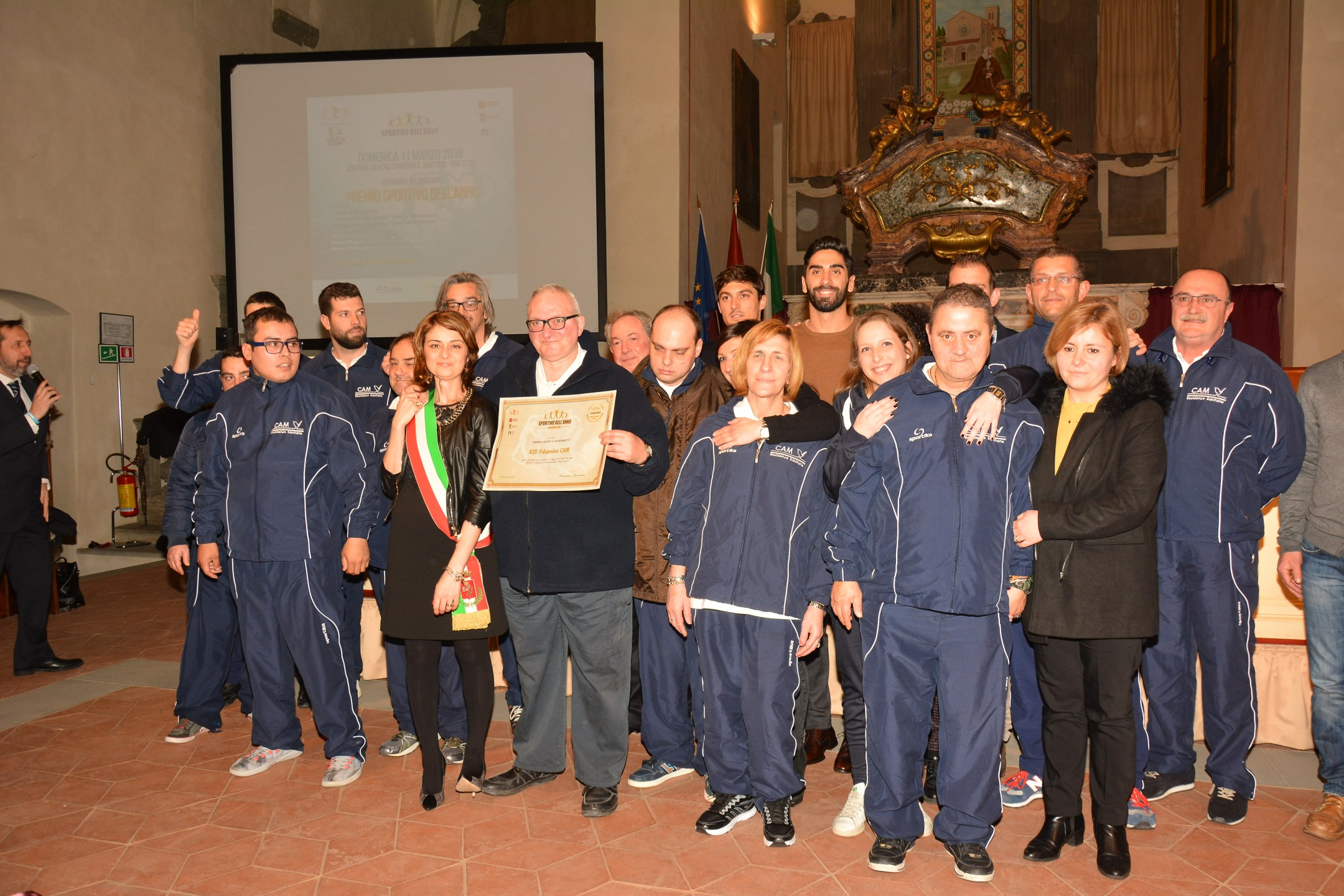 Premio Sportivo dell'anno a Cortona ecco i premiati -  TUTTE LE FOTO DELLA SERATA