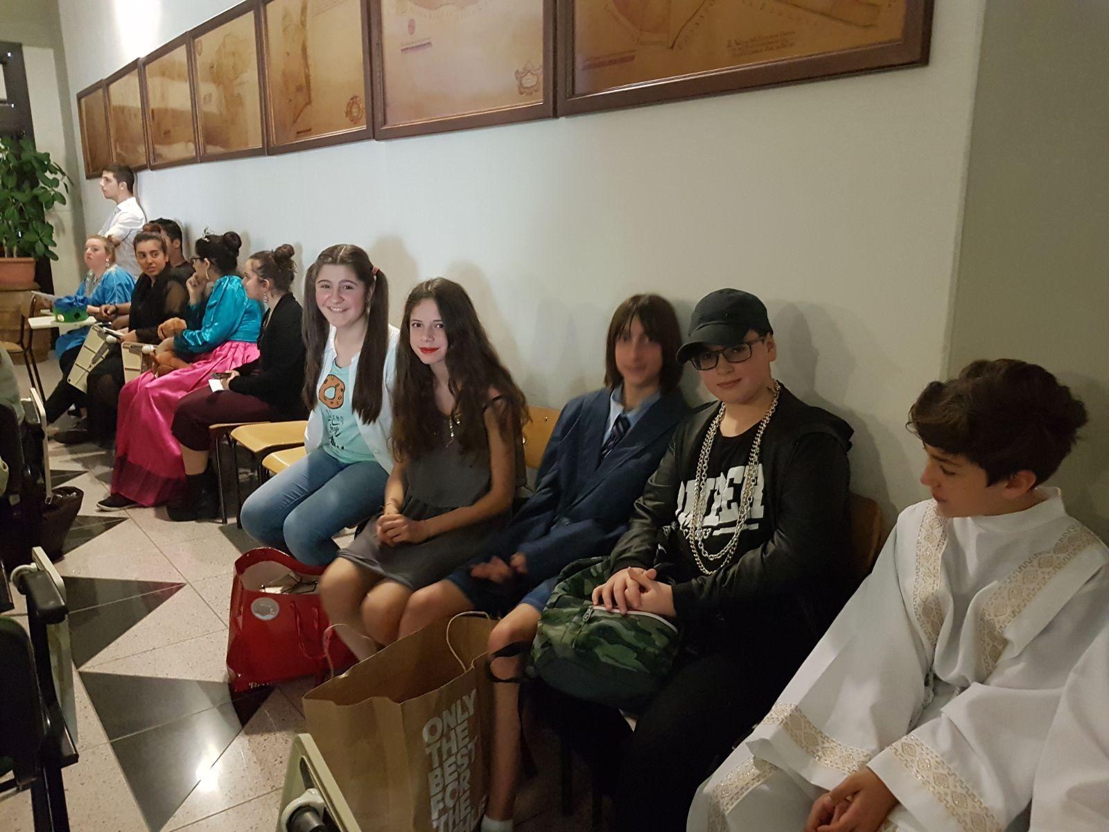 """L'Istituto """"A. Vegni"""" ospita giovani attori di scena tra una tazza di tè e tante risate"""