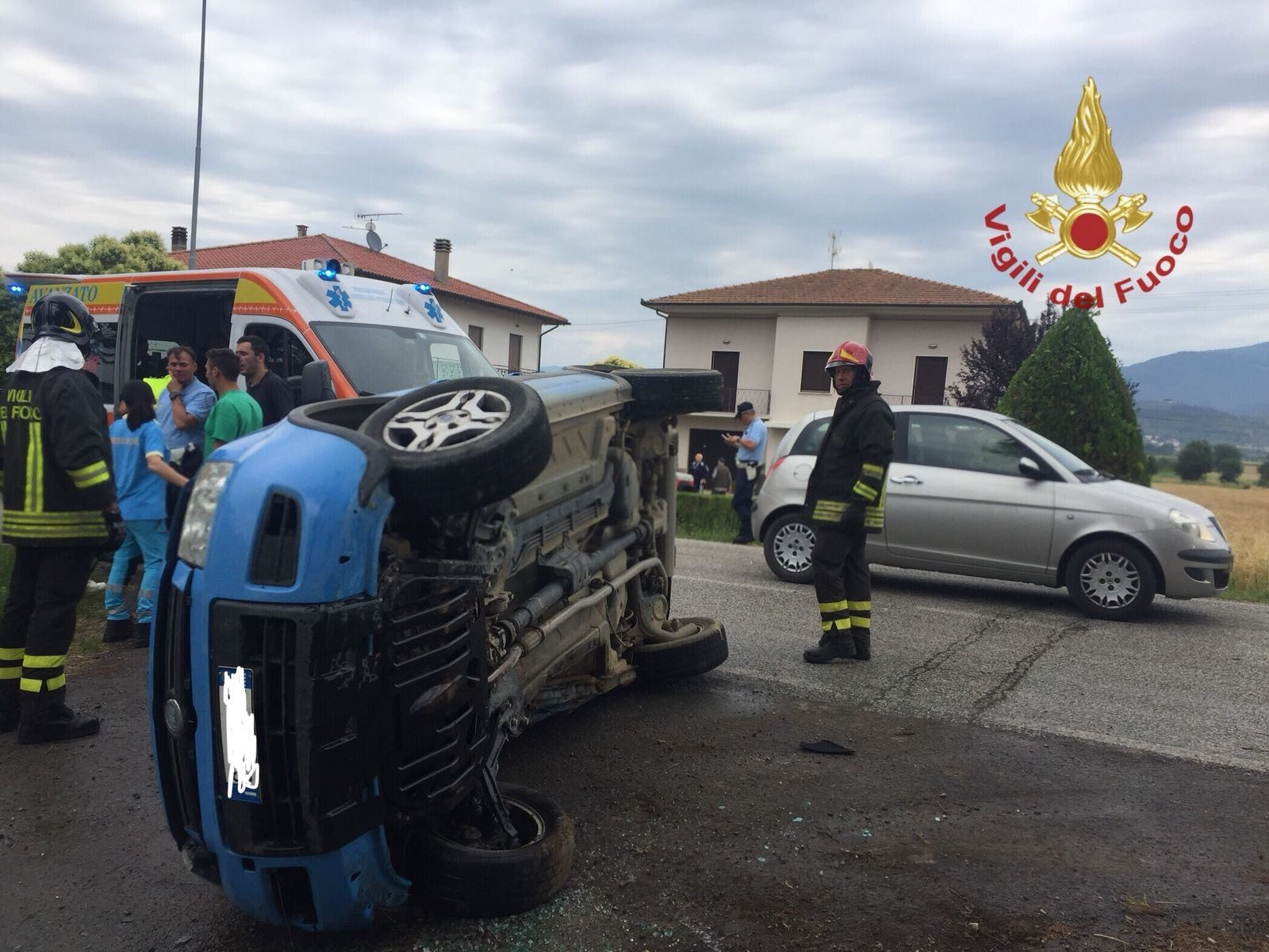 Incidente stradale a Castiglion Fiorentino, ferito un 65enne