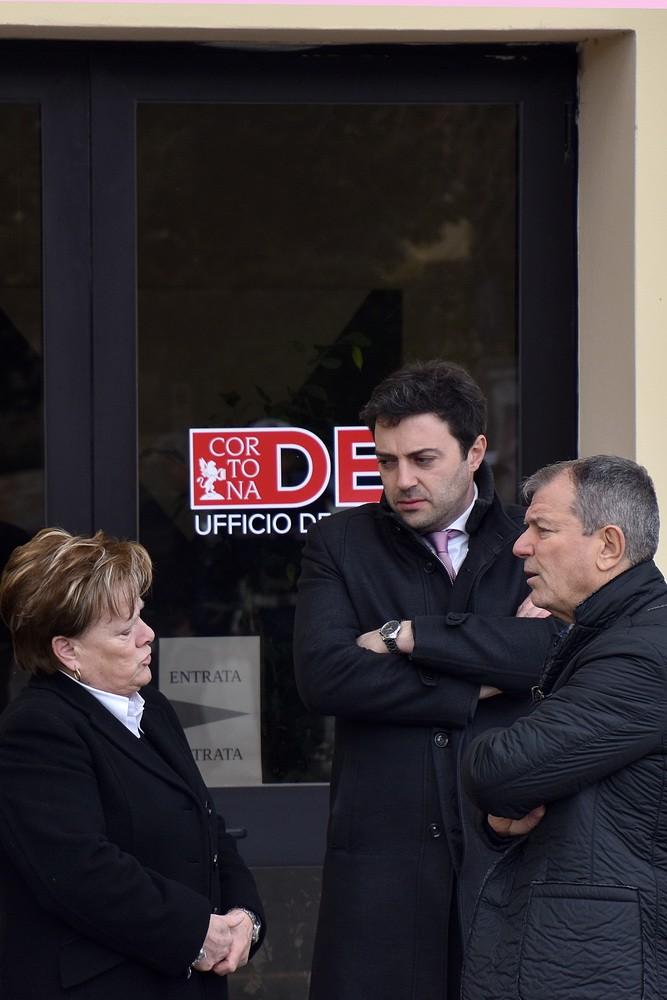 Intitolazione a Camucia degli uffici in meomoria di Emanuele Petri