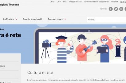 """Coronavirus, arriva """"Cultura è rete"""": la Regione lancia piattaforma """"free"""""""