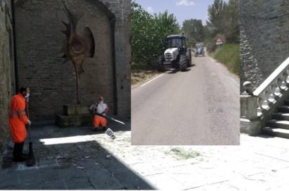 Cortona: ripartiti a pieno ritmo i lavori comunali