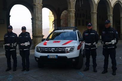 Controlli della polizia municipale di Castiglion Fiorentino