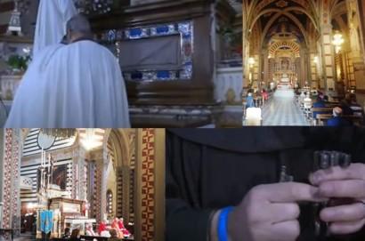 Richiusa la Sacra Urna di Santa Margherita