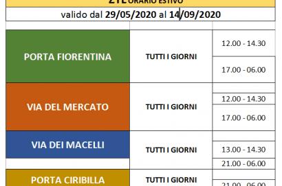 """Castiglion Fiorentino """"Car Free"""", area pedonale tutti i giorni, 12-14.30 e 19-24, su Corso Italia e parte di via Dante Alighieri"""