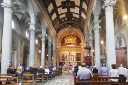 In Duomo l'ultimo saluto dei cortonesi ad Antonella Cuculi