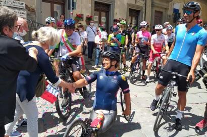 Obiettivo Tricolore arriva a Castiglion Fiorentino, in testa Alex Zanardi