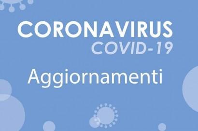 Coronavirus, 9 casi positivi e 6 guariti in più rispetto a ieri