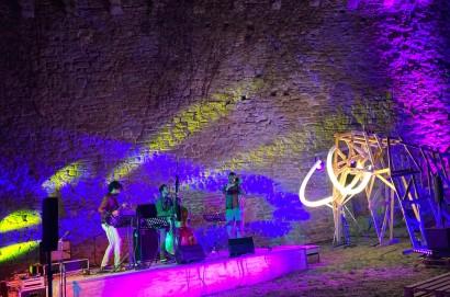 Mammut Jazz Fest: bellissima serata in Fortezza con il trio Floors