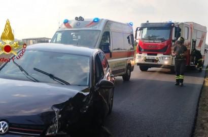 Incidente stradale tra Foiano della Chiana e Cesa: 4 persone ferite