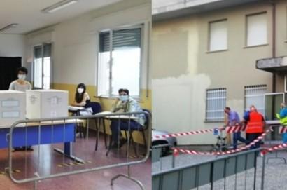 Cortona: apertura regolare dei seggi elettorali