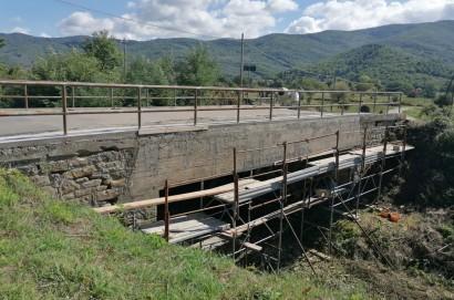 Lavori di messa in sicurezza di ponti e argini a Castiglion Fiorentino