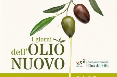 24 e 25 ottobre: i giorni dell'olio nuovo. Fine settimana dedicato alla degustazione a Castiglion Fiorentino