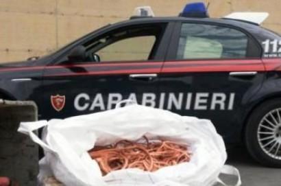 Furto di rame, due arresti in Valdichiana