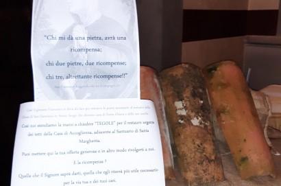 """Una """" tegola"""" per santa Margherita"""