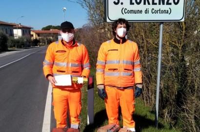 Cortona, la raccolta dei rifiuti porta a porta si estende a Centoia, Pietraia, San Lorenzo, Manzano, Borgonuovo e Cignano