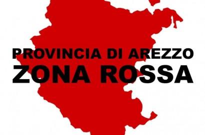 Provincia di Arezzo: seconda settimana di zona rossa