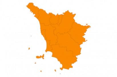 Covid, la Toscana rimane in zona arancione anche la prossima settimana