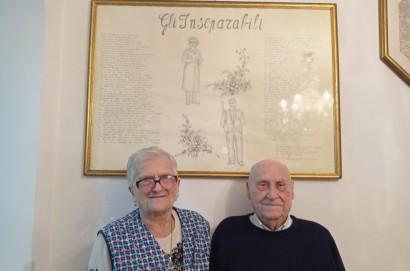 70 anni di Bruna e Rivo a Monte San Savino