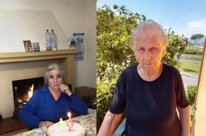 Auguri speciali ad Amabile e Rosina: due novantenni della Val di Chio
