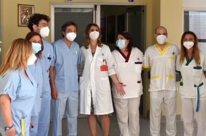 Il San Donato respira meglio: chiusa anche la degenza Covid di pneumologia