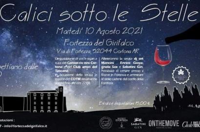 Calici sotto le Stelle alla Fortezza del Girfalco a Cortona