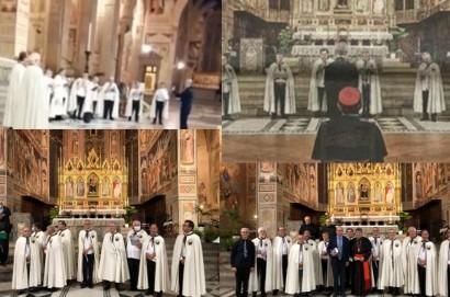 Gli Araldi di Santa Margherita rendono omaggio a Dante