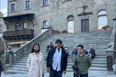 Cortona, la promozione punta alla Cina con la videoblogger Amelie Wei