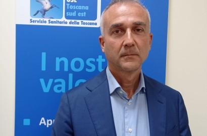 Andrea Collini nuovo direttore di Chirurgia Generale direzione struttura complessa Chirurgia Generale S.O. Cortona dell'Ospedale de la Fratta