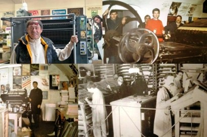 Mario Rofani: una vita da tipografo