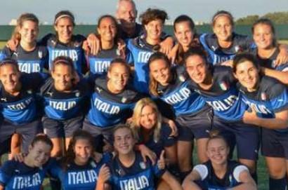 Italia-Inghilterra: le nazionali femminili Under 19 di calcio  si sfidano a Montepulciano