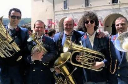 La banda di Sarteano suona in Vaticano