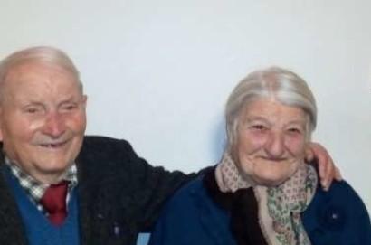 Olga e Luigi festeggiano 70 anni di amore con le nozze di titanio