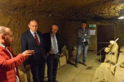 Il primo cittadino di Chiusi Juri Bettolini incontra Il vice capo nazionale dei Vigili del Fuoco