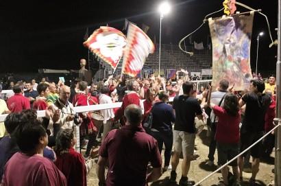 Sarteano: Dopo una giostra combattuta, allo spareggio vince San Lorenzo in Pian di Mengole