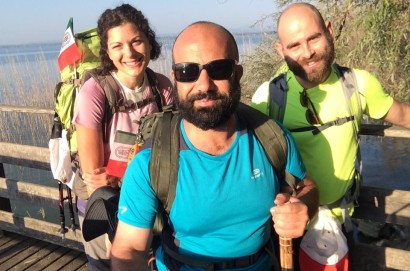 "Via Lauretana ""viaggiatori straordinari"" da Torrita a Loreto: la meta si avvicina"