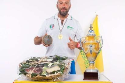 Il sinalunghese Simone Massini campione italiano di Ruzzola individuale