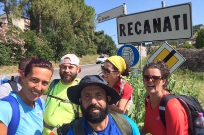 Via Lauretana da Torrita di Siena-Loreto: meta raggiunta