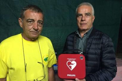 Donato defibrillatore alla comunità di Brolio