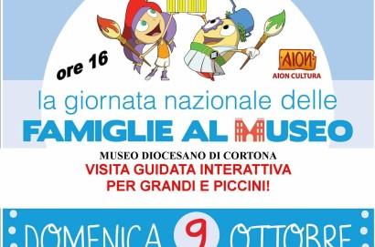Giornata nazionale delle famiglie al museo: iniziative a Cortona e Lucignano