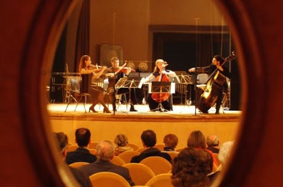 Rapsodia in Blu al Teatro degli Arrischianti di Sarteano