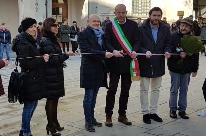 Inaugurazione piazza Licio Nencetti a Foiano della Chiana