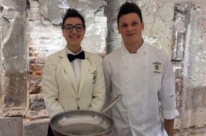 Due studenti del Vegni di Cortona premiati al Food & Wine