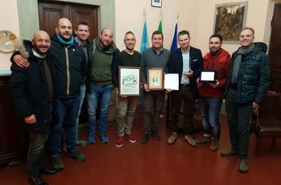 Consegnato il riconoscimento al Tennis Club di Castiglion Fiorentino